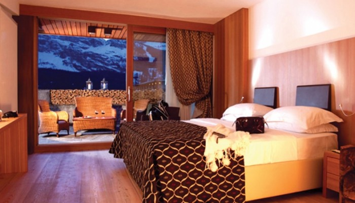 Hotel Alaska Cortina camere