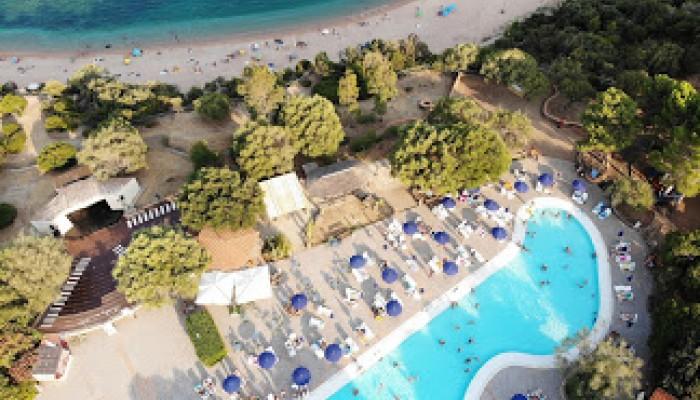 Club Esse Palmasera  Resort Veduta alto