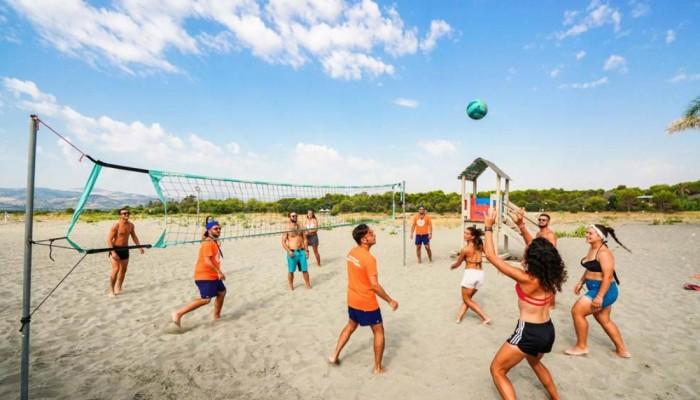 Villaggio Giardini d'Oriente beach volley