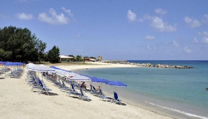 Green Garden Resort spiaggia